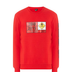 Graphic Sweat Top