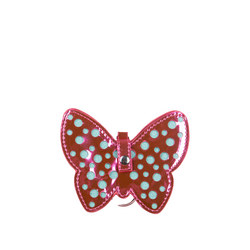 Girls Shimmer Butterfly Mini Purse Bag Charm