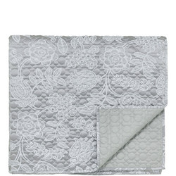 Helena Springfield Letty Quilted Throw Ash