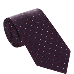 Square Dot Silk Tie
