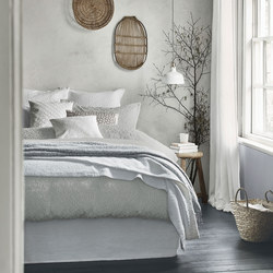 Nara Grey Coordinated Bedding
