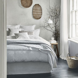 Nara Duvet Cover White