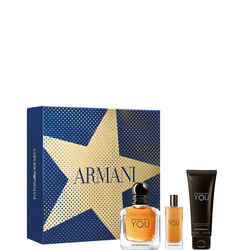 Emporio Armani Stronger with You EDT Christmas Gift Set for Him