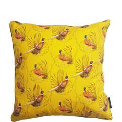 Pheasant Cushion Multi 50cm x 50cm