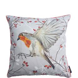 Robin In Flight Cushion Multi 50cm x 50cm
