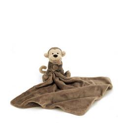 Bashful Monkey Soother 34cm
