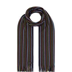 Fine Striped Scarf