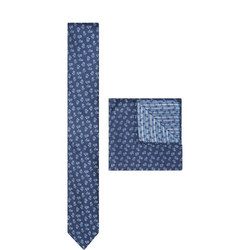 Floral Print Tie & Pocket Square