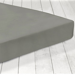200 Thread Count Fitted Sheet Slate