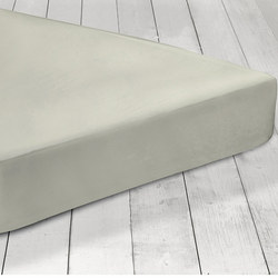 200 Thread Count Fitted Sheet Silver