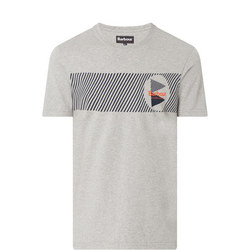 Angle Graphic Print Short Sleeve T-Shirt