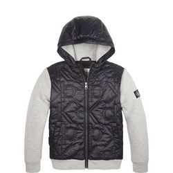 Boys Quilted Front Casual Jacket