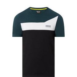 Steering Contrast T-Shirt