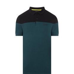 Curve Contrast Polo T-Shirt