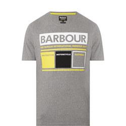 Graphic Print Crew Neck T-Shirt