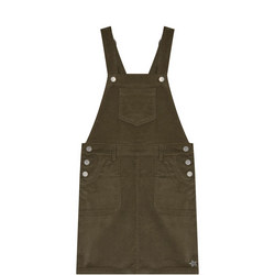 Cord Dungaree Dress
