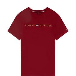 Short Sleeve Logo Pyjama T-Shirt