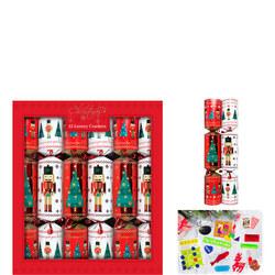 Luxury Christmas Crackers Nutcracker 12 Pack