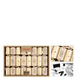 Premium Cracker Collection Gold/Cream Eight Pack