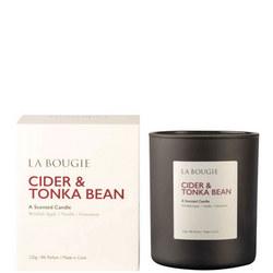 Cider & Tonka Bean Candle