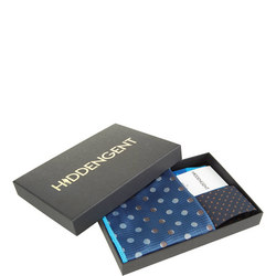 Three-Piece Vega Pocket Square, Socks And Tie Set