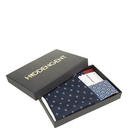 Three-Piece Sirius Pocket Square, Socks And Tie Set