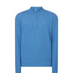Structured Half-Zip Sweater