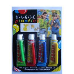 Magic Plastic Four-Pack