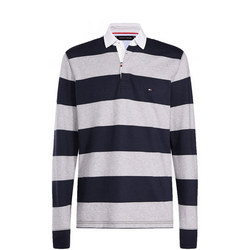Iconic Block Stripe Rugby