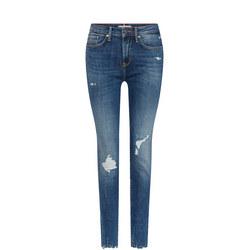 Como Keys Destructed Skinny Jeans