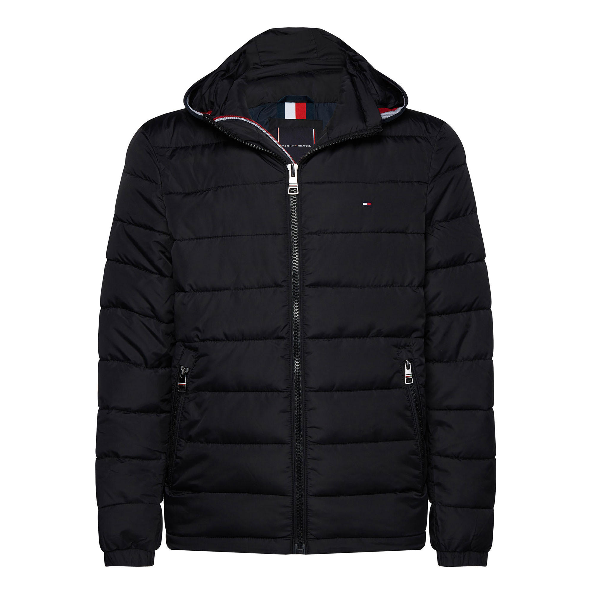 143408871: Quilted Hooded Jacket