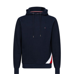 Diagonal Global Stripe Hoody
