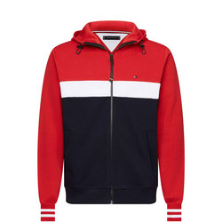Colour Block Full Zip Hoody