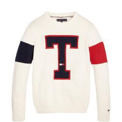 T Badge Sweater