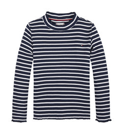 Essential Stripe Rib T-Shirt
