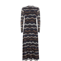 Camille Tie Dye Mesh Dress