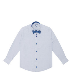 Boys' Spotty Shirt And Bow Tie