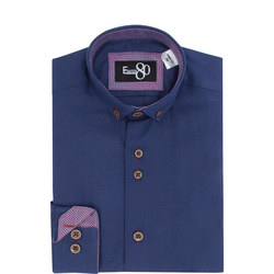Boys Linen Look Shirt