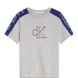 Boys Colour Block Logo T-Shirt