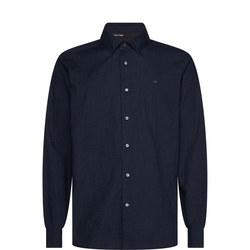 Heathered Poplin Shirt