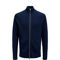Tom Ribbed Zip-Up Sweater