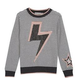Striped Lightning Bolt Jumper