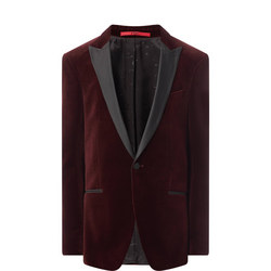 Harvey Velvet Blazer