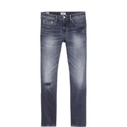 Slim Scanton Grey Stretch Jeans