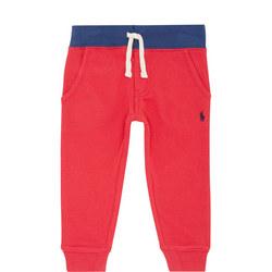Boys Textured Sweat Pants
