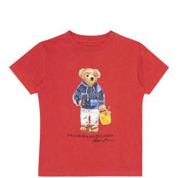 Boys Beach Bear T-Shirt