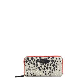 Leopard Print Oilskin Wallet