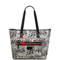 Leopard Oilskin Tote Bag