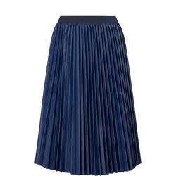 Darina Pleated Midi Skirt