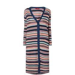 Dallas Stripe Sequin Maxi Cardigan
